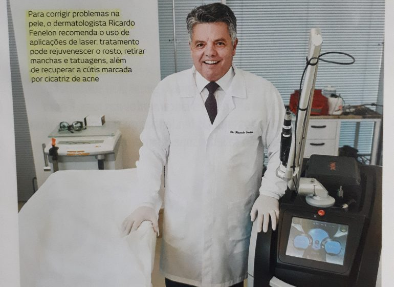 Dr Ricardo Fenelon na revista Encontro, do Correio Braziliene para falar como se preparar para o verão