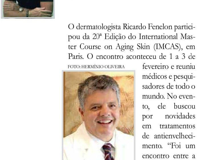Congresso IMCAS 2018 – Publicação no Jornal do Planalto